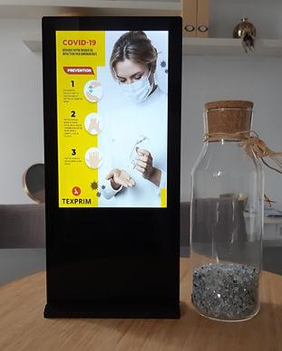 T-Stand location borne numérique affichage dynamique montreal laval longueuil Texprim