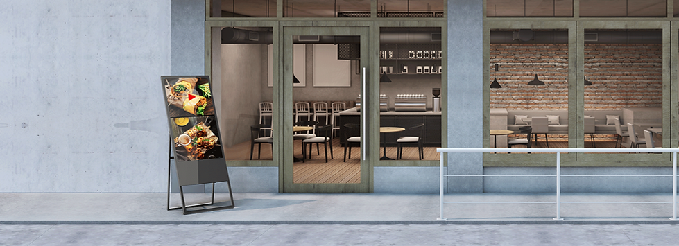 G-Stand location borne numérique affichage dynamique montreal laval longueuil