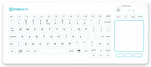 Clavier TouchPad