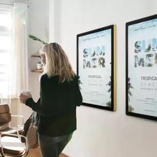 Cadre mural magnetique, ascenseur, snap