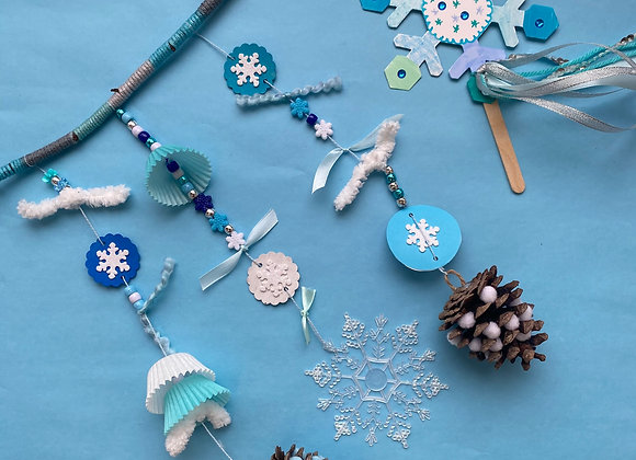 Winter Mobile & Snowflake Wand