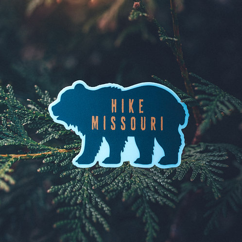 Hike Missouri Stickers