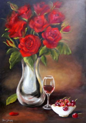 Cherries & Roses.JPG