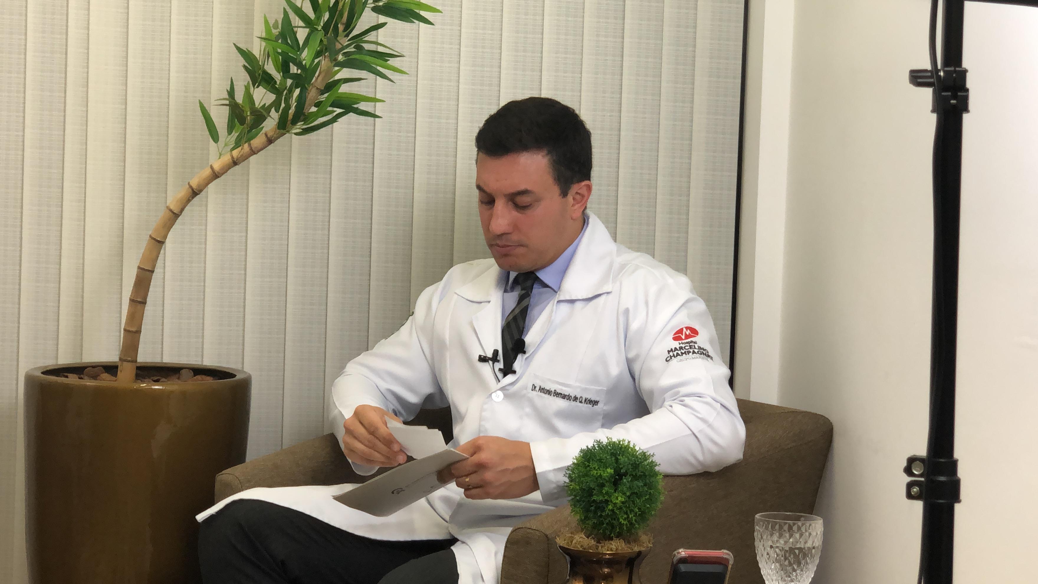 LIVE Dr. Antônio Krieger