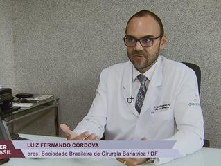 Dr. Luiz Fernando Córdova explica importância da cirurgia reparadora após bariátrica na TV Brasil