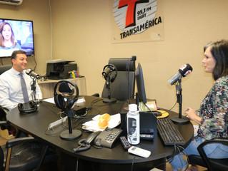 Dr. Antônio Krieger participa do programa Transamerica Light News