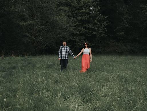 Adam & Beth | Washington State Engagement Session