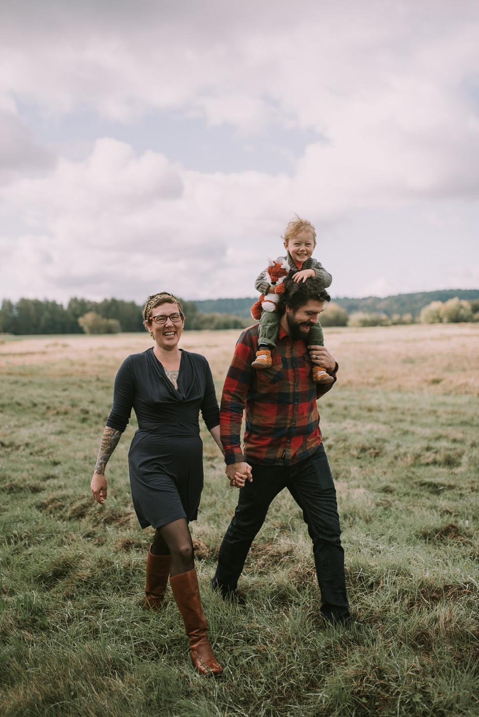 Olympia, WA Fall Family Photos, Cherish Shanell Photography, Family Photographer