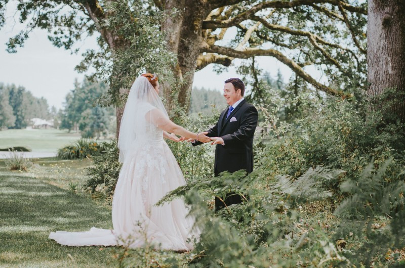 Olympia Wedding Photographer, First Look