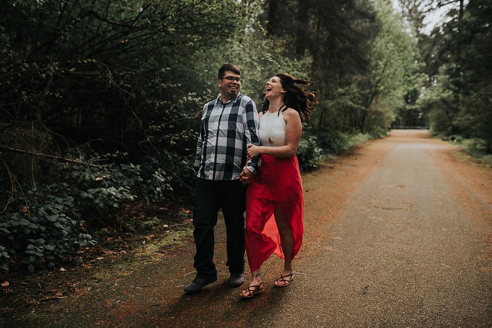 Olympia, WA Engagement Couple