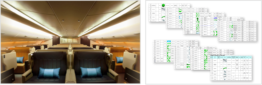 Airplane Seats Products Forms