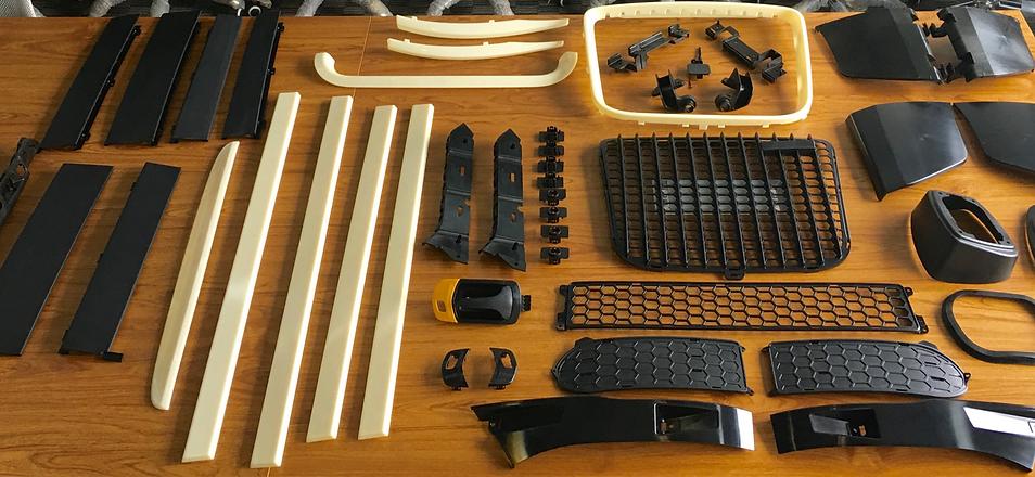 Auto Parts Display