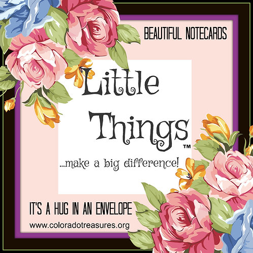 """Little Things"" Notecards"