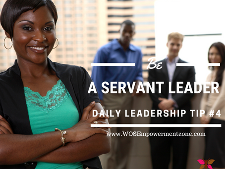 Here is your Leadership Tip #4!  Who will you help today?