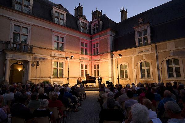 Château d'adaux, récital Rossini