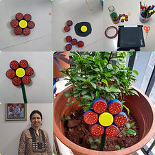 _Ekta Thaker Pic 1 - Best out of Waste.j