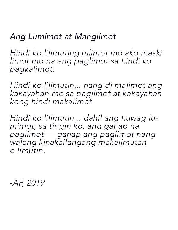 Ang Lumimot at Manglimot.jpg
