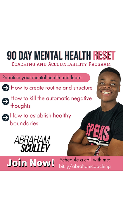 90 Day Mental Health Reset