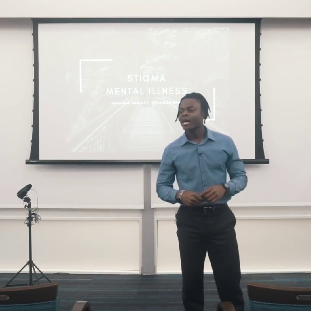 African American Mental Health - A Student's Perspective (Abraham Speaks2Inspire)
