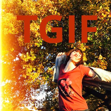 Thank Mr G it's Friday