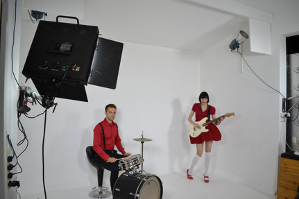 Our time on set for 'Cat Got Your Tongue' video shoot