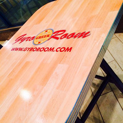 GyroRoom Boca Raton Floor Lamination on