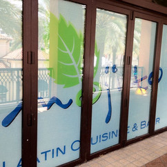 Mojito Vinyl Wall wrap Design in Miami F
