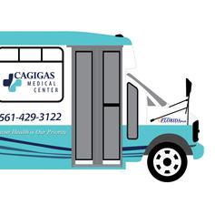Cagigas-Medical-Center-Car-Wrap-Designed