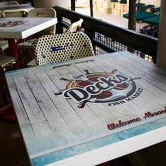 Decks Table Wrap Wall wrap Design in Mia