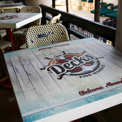 Decks Table Wrap Wall wrap Design in Mia
