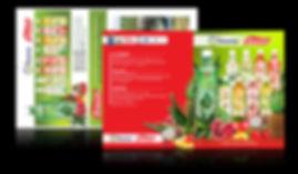 Aloe Vera Houssey Brand Catalog Design by Nazca Marketing, Aloe vera distributors in USA