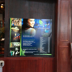 Mojito Cuban Signage Design and Printing