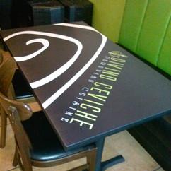 Divino Ceviche Table Wrap Wall wrap Desi