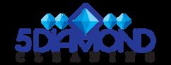 5-Diamond-logo-design-Graphic-Design-in-