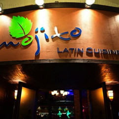 Mojito Latin Cuisine Signage Design and