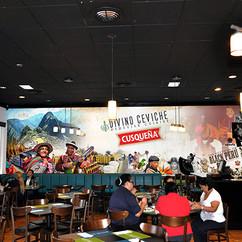 Divino Peruvian Restaurant Signage Desig