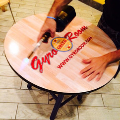 GyroRoom Boca Raton Floor Lamination on