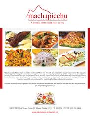 Machupicchu-Kendall-Restaurant-Advertisi