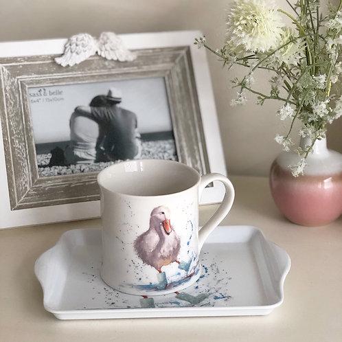 Bree Merryn Fine Art Fine China Mug Puddle Duck