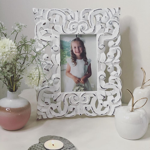 Distressed Mango Wooden Picture Frame