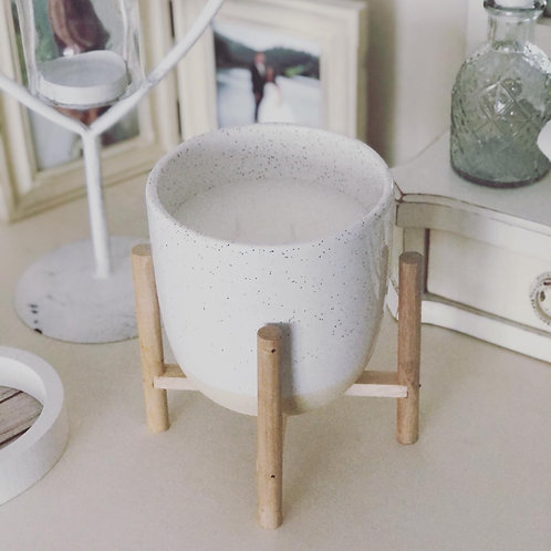 Simply Living Candle on Stand