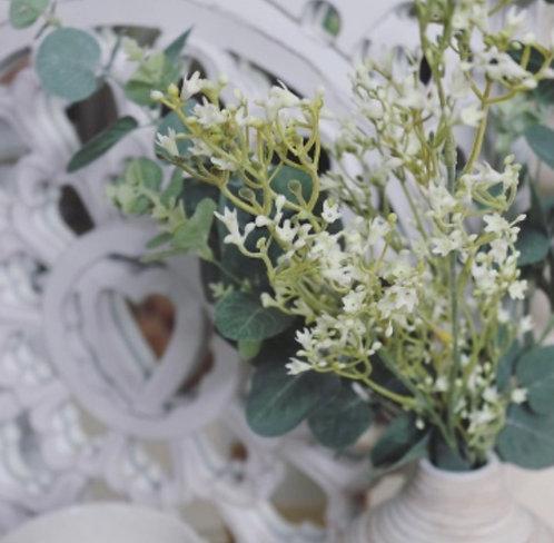 White Wildflower Spray