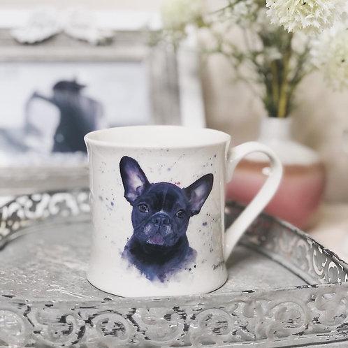Bree Merryn French Bulldog Fine China Mug