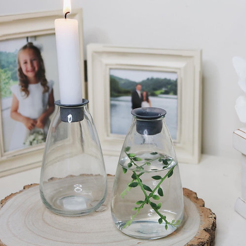 Fillable Dinner Candle Holder