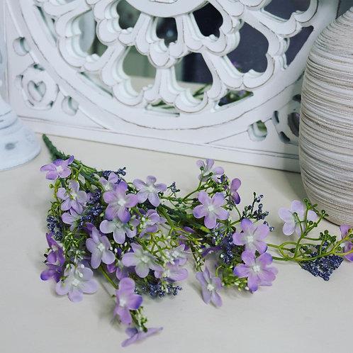 Purple Wildflower Spray