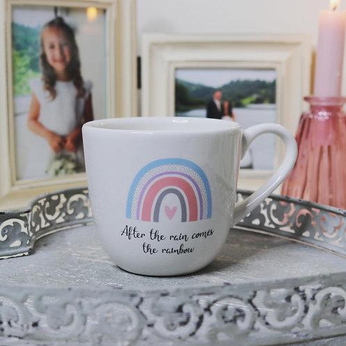 'After the rain ...' Rainbow mug