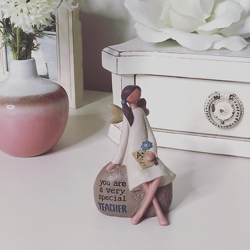 Small Teacher Angel Ornament