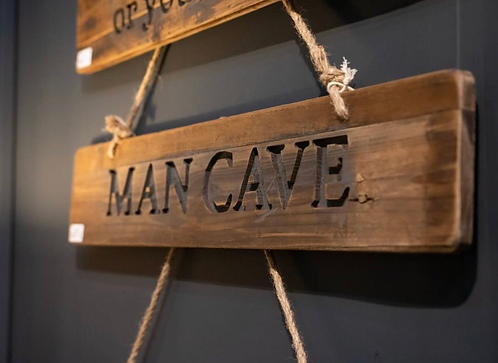 Man Cave Rustic Wooden reclaimed Pine