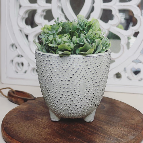 Dotty 3 Footed Pot