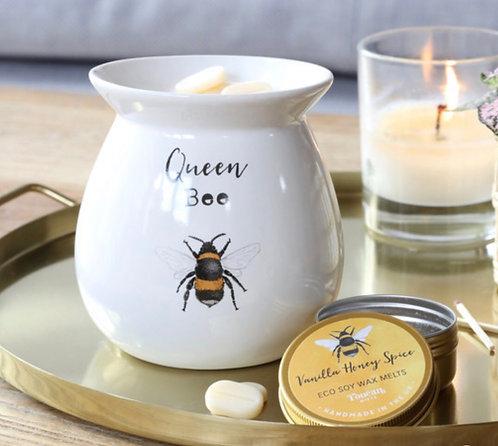 Queen Bee Wax Burner Giftset